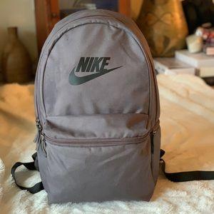 Nike Grey & Black Unisex Backpack